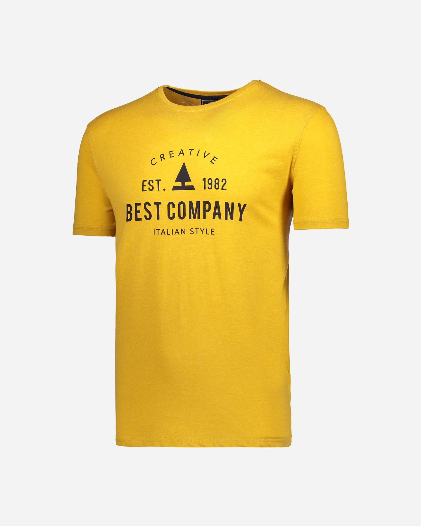 Best company bst tee m bcm209w17 205 t shirt su cisalfa for Best custom t shirt company