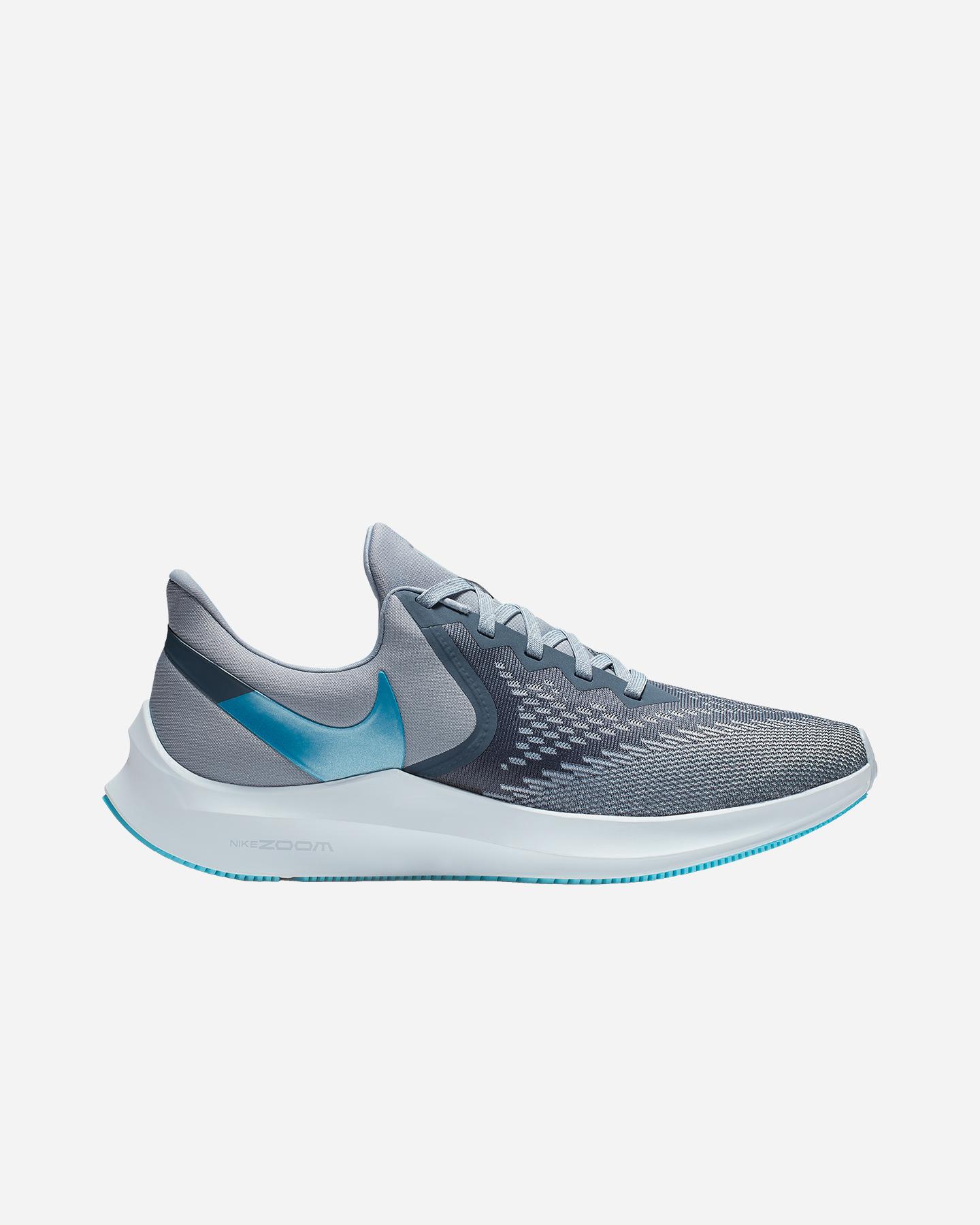 Zoom M Running Aq7497 Nike Air 6 Sport 001Cisalfa Scarpe Winflo 80OwmNnv