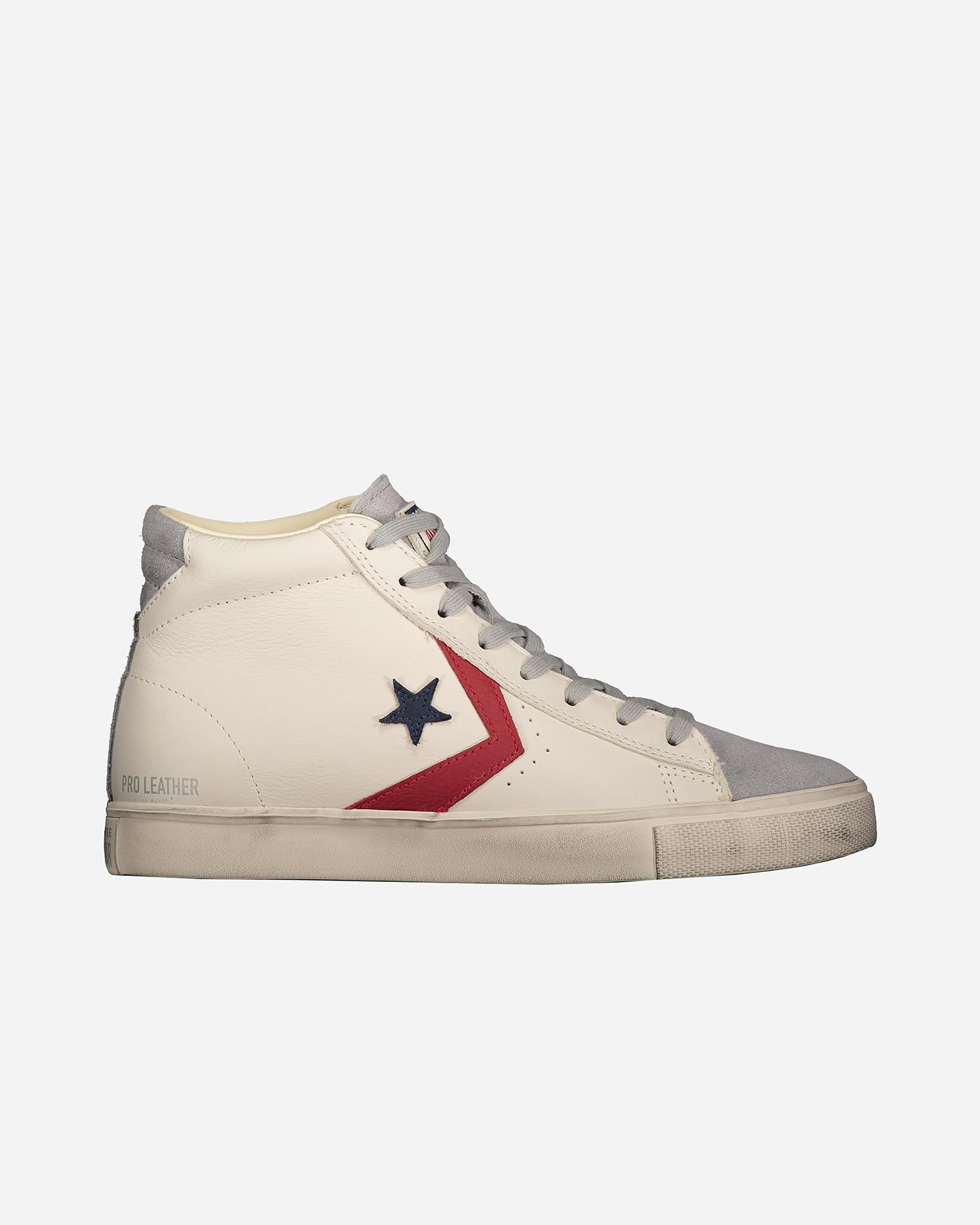 Scarpe Sneakers Converse Pro Leather Distressed Hi M 162745C