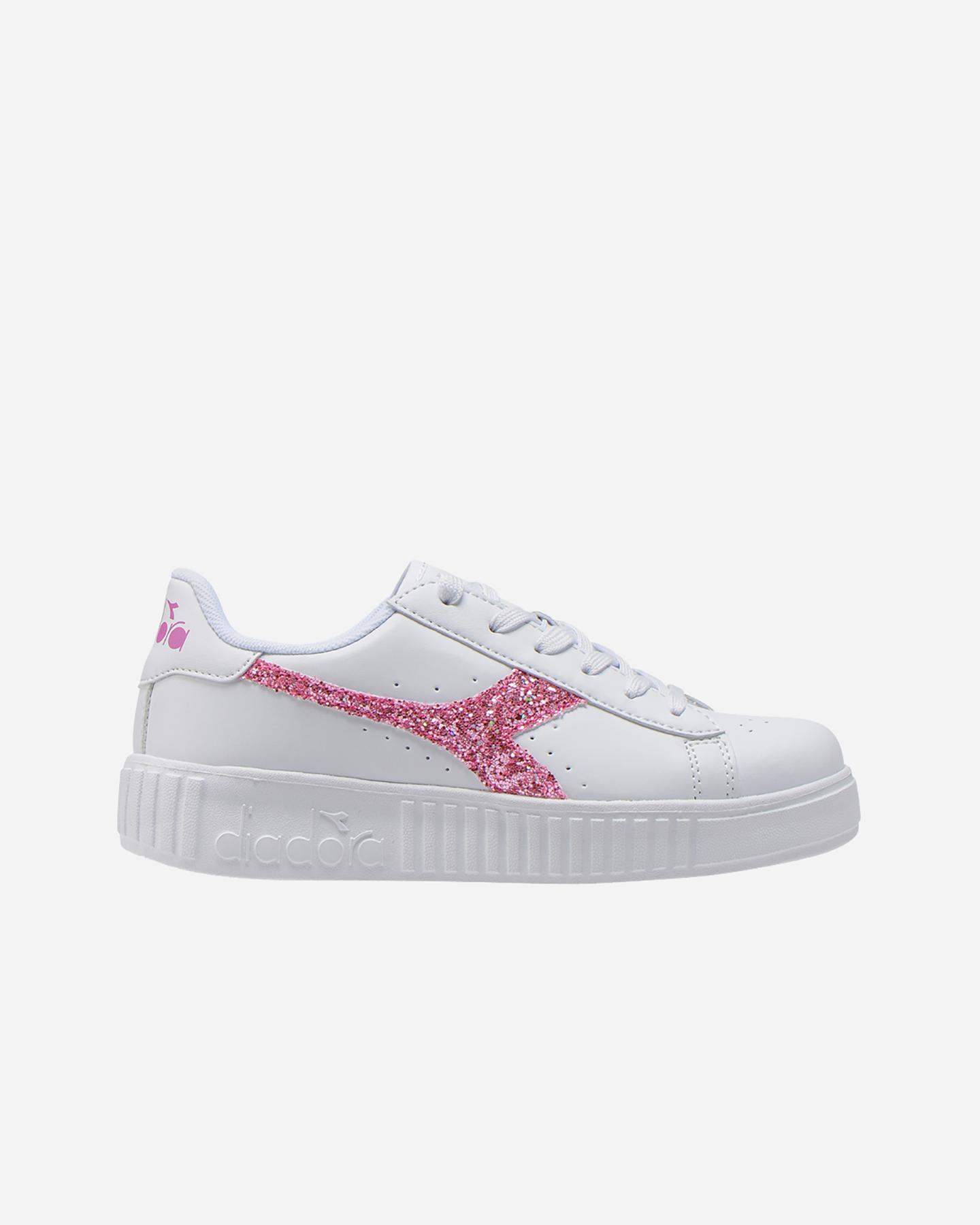Diadora Game P Step White Pink